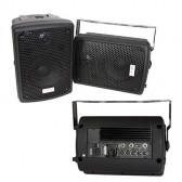 SET BOXE MONITOR 1 ACTIV 1 PASIV 8 inch/20CM 60W RMS