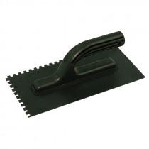 Gletiera plastic dintata cu maner ingust 270x130/6mm