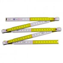 Metru tamplar din lemn de fag 1m