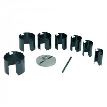 Set carote lemn si rigips 26-63mm/25mm - 9p.