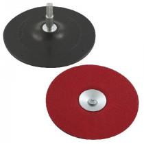 Suport disc abraziv auto-adeziv cu tija / 125mm