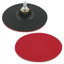 Suport disc abraziv auto-adeziv cu tija-filet / 125mm
