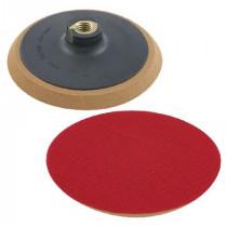 Suport disc abraziv auto-adeziv gumat cu filet / 125mm