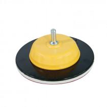 Suport disc abraziv auto-adeziv fixabil cu tija / 125mm