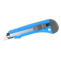 Cutter plastic 18mm cu sina metalica si bloca
