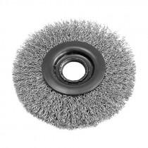 Perie sarma otel tip circular cu orificiu 120mm