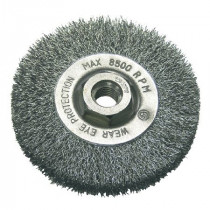Perie sarma tip circular cu filet 100mm