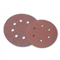 Disc abraziv hartie cu orificii 125mm - gr.40, 5/set