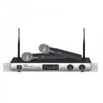 Statie 2 microfoane UHF se-300 azusa