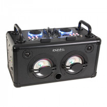 Boxa portabila cu mixer incorporat bt/2x usb/aux 200w