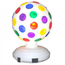 Glob disco 6 inch/5cm alb