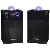 SET BOXA ACTIVA PA 10 inch (25CM) + ASTRO 3X1W RGB