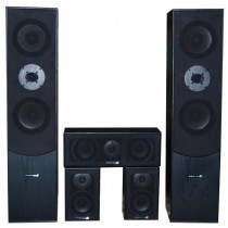 Incinte hi-fi 5.0 home cinema hyundai negru