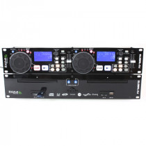 DUAL CD-MP3/USB/SD PLAYER + SCRATCH