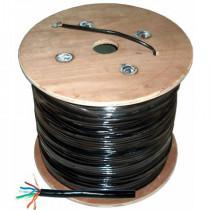 Cablu utp cat5e cu + gel negru tambur 305m