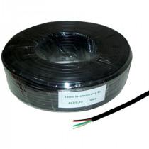 Cablu telefon 4 fire negru - 100m