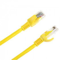 PATCHCORD UTP CAT 5E 10M GALBEN INTEX