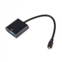 ADAPTOR MICRO HDMI TATA - VGA MAMA & AUDIO