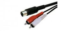 Cablu 5din-2xrca