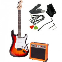 Set chitara electronica madison sunburst