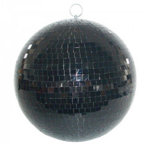 Glob disco oglinzi negre 8 inch/20cm