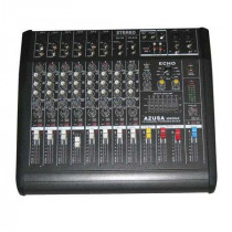 Mixer audio cu amplificator consola dj 10 canale pmq2110 2 x 250w