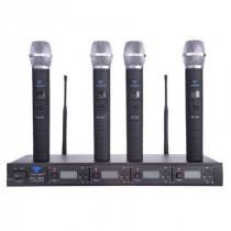Statie 4 microfoane mana UHF