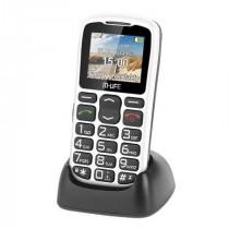 TELEFON GSM SENIOR CU DOCKING M-LIFE ALB