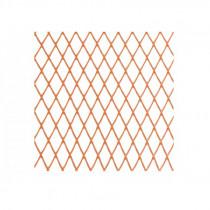 Plasa protectie 1.2m / 25m - orange / 10x20mm