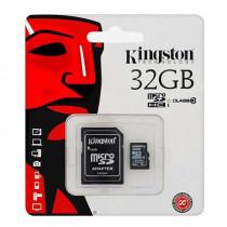 MICROSD CARD 32GB CLASS 10 ADAPTOR KINGSTON