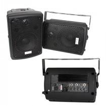 SET BOXE MONITOR 1 ACTIV 1 PASIV 8 inch (20CM) 60W RMS