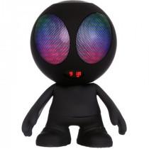 Boxa portabila 10w model alien cu bluetooth/usb/msd/fm negru