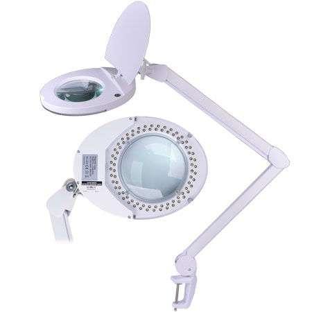 Lampa Cu Lupa 5 Dioptrii 80 Led Uri Pentru Cosmetica Electrostate Ro