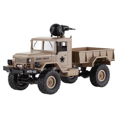 Camion rc cu camera rebel truck