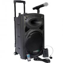 Boxa portabila activa 700w, bt, usb, mp3, vox, 2 microfoane, husa